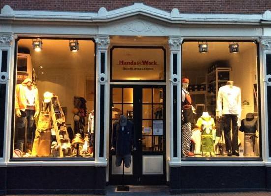 Hands@Work winkel in hartje Haarlem